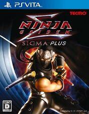 Used PS Vita Ninja Gaiden Sigma Plus Japan Import (Free Shipping)