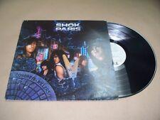 VINYL ALBUM RECORD,PROMO/DEMO,SHOK PARIS CONCRETE KILLERS,IRS-42236, HEAVY METAL