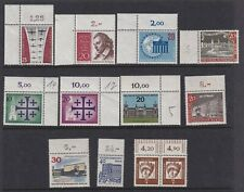 West Germany Berlin 1959 to 1966 Various Issues with top selvedge MUH