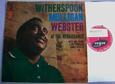WITHERSPOON MULLIGAN WEBSTER AT RENAISSANCE UK Vogue MONO 1st DECCA DEEP GROOVE