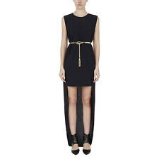 Sass & Bide National Figure SLIM PICKINGS Multilayer Dress with train NEW SZ 14