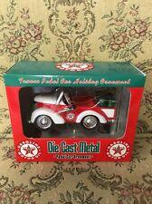 Texaco Petite Pedal Car Ornament Die Cast Metal