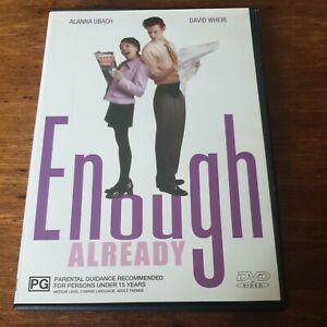 Enough Already DVD R4 Like New! FREE POST EXRENTAL