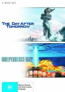 The Day After Tomorrow  / Independence Day (DVD, 2007, 2-Disc Set)