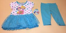 Bubble Guppies Toddler Girl Top Shirt & Leggings Outfit Set New 4T