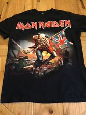 Iron Maiden 2015 – The Trooper black M t shirt with Eddie on front.