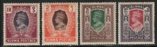 Burma 1946 George VI set Sc# 51-65 NH