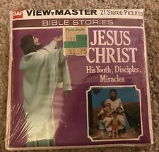 Vintage View-master Factory Sealed NIP BIBLE STORIES Jesus Christ GAF B882