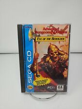 Eye of the Beholder (Sega CD, 1994) Complete with foam - Perfect Disc!