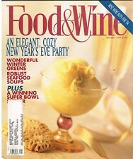 FOOD & WINE 1994 January: ELEGANT NEW YEAR'S PARTY, Cool Variety of Other Ideas