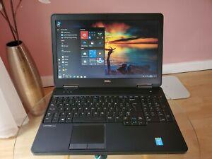 """Dell Latitude E5540 15.6"""" i5 CPU 8GB RAM 128GB SSD+500GB SSHD DVD-ROM Win10Pro!"""