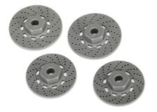 Hex Wheel Hubs (disc brake rotors) (4) Traxxas 4-Tec Ford GT TRA8356