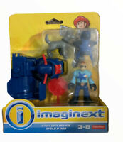 New IMAGINEXT City Police Dog Police Action Figure Fisher Price Set Toy (9