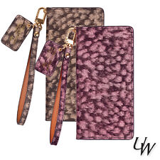 For Samsung Galaxy Note 20 Ultra /URBANWEST LEOPARD Calf Leather Cell Phone Case
