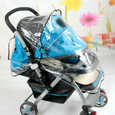 Universal Waterproof Rain Cover Wind Shield Fit Most Strollers Pushchairs Buggys