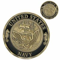 United States Navy Shellback Cross the Line Military Challenge Coin