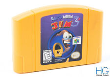 Earthworm Jim 3D - N64 Nintendo 64 Retro Game Cartridge NTSC