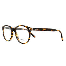 Prada Glasses Frames PR14TV VAU1O1 Havana 52mm Mens