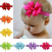 20pcs Baby Girls Headbands Grosgrain Ribbon Boutique Hair Bow for Teens/Toddler