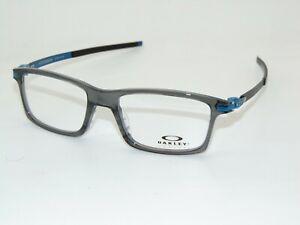 OAKLEY Pitchman OX8050-1253 Polished Grey Smoke 53mm Rx Authentic Eyeglasses