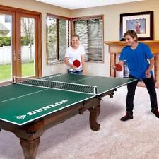 Ping Pong Table Tennis Net Post Set Conversion Top Portable Folding Official 9X5
