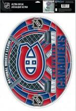 """(HCW) Montreal Canadiens Multi-Use Stained Glass Decal 11""""x17"""" - Reusable"""