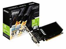 Carte Graphique MSI NVIDIA GeForce GT 710 1 Go Carte Graphique (GT 710 1GD3H LP)