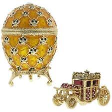 1897 Coronation Royal Russian Egg 3.8 Inches