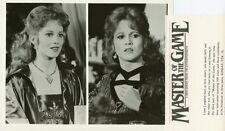 LIANE LANGLAND PORTRAITS MASTER OF THE GAME ORIGINAL 1984 CBS TV PHOTO