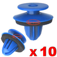 WHEEL ARCH TRIM CLIPS BLUE PLASTIC FOR AUDI Q3 REAR EXTERIOR QUARTER MOULDING