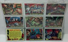 1994 Mars Attacks Topps Deluxe Reissue Series 9 pack 44,45,47,49thru53, & 55