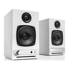 Audioengine HD3 Active Speakers WHITE PAIR Bluetooth AptX Wireless Spotify