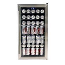 Whynter BR-125SD Beverage Refrigerator, Stainless Steel New