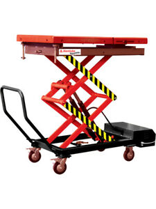 Alemlube Lifting Table Capacity of 1,200 Kilograms Fully mobile (AA49010)