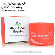 Woohoo! All Natural Deodorant Paste 70g - Urban - Aluminium Free