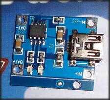 3pcs Li Ion charger PCB, TP4056 mini USB lithium battery charger