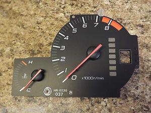 97-01 OEM USDM Honda Prelude HR-230 combo temp temperature tach tachometer gauge