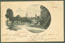 MACERATA. Pollenza, Mura Castellane. Cartolina d'epoca viaggiata nel 1902