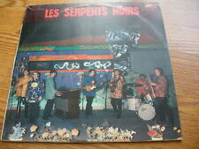 LES SERPENTS NOIRS lp Belgian Beat Pokora