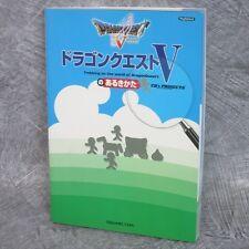 DRAGON QUEST V 5 no Arukikata Game Guide Japan Book Play Station 2 SE2295*
