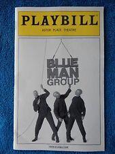 Blue Man Group - Astor Place Theatre Playbill - December 2009 - Matt Goldman