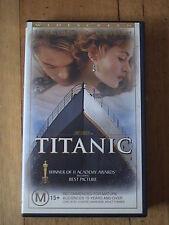 Titanic Widescreen VHS Video