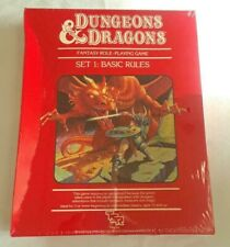 D&D 1011 Dungeons and Dragons basic set Red Box Rules Rare Sealed! ORIGINAL!