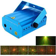 Proiettore Mini Laser Stage Lighting Laser Olografico Microfono In Per Feste hsb