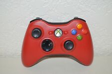 Microsoft Xbox 360 Wireless Controller - Red Resident Evil - Official Genuine