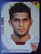 Panini 504 Daniel Alves Sevilla FC UEFA CL 2007/08