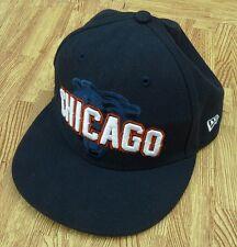 Chicago Bears New Era 5950 NFL Football Blue Hat Cap ~ Kids 6 5/8th