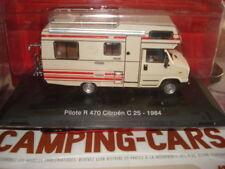 CAMPING CAR LA CAPUCINE PILOTE R 470 SUR CHASSIS  CITROEN C 25 1984  1/43 NEUF