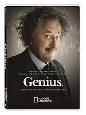 GENIUS 1: EINSTEIN (2017) Geoffrey Rush as Albert - TV Season Series NEW  DVD R1