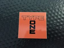 Spoon Sports Type One Sticker Decal Acura Honda